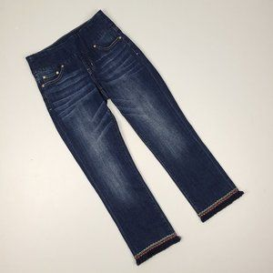 Jag Jeans High Rise Straight Ankle Jeans Size 2